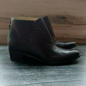 Stivali New York Tayrona Leather Ankle Booties
